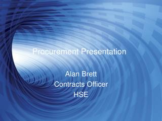 Procurement Presentation