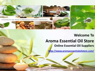 Get Massage and Spa Oils at Aromaessentialoilstote.com