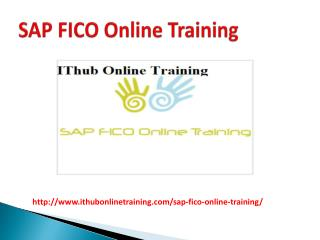 SAP FICO Online Training in USA | SAP FICO Online Classes.