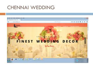 Chennai Wedding