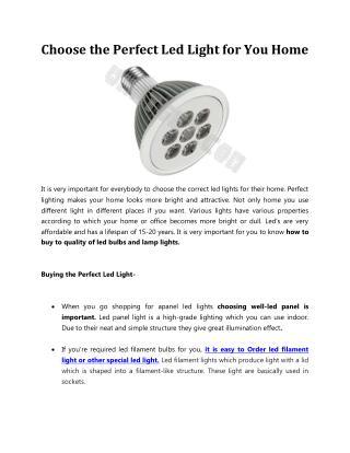 Led Road Light or Streetlight