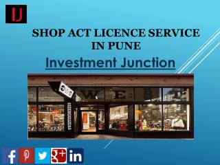 Online Shop Act Licence Application Service In Pune