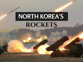 North Korea's rockets