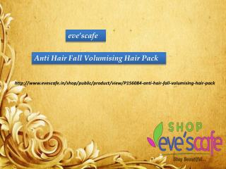 Buy Evescafe Anti Hair Fall Volumising Hair Pack