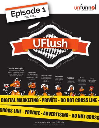 Agile Marketing Comic Book - uFlush, episode 1