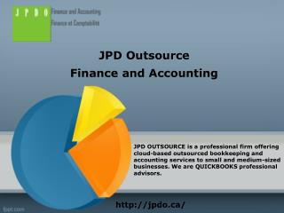 Quickbooks Montreal | (514) 316-4403 | JPD Outsource
