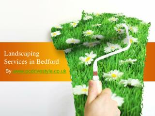 Landscaping Services in Bedford