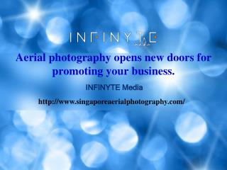 Aerial photography opens new doors for promoting your business.