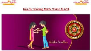Send Rakhi To USA online