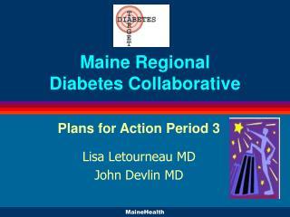 Maine Regional Diabetes Collaborative