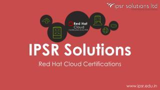 Red hat cloud certification   ipsr- 9447169776
