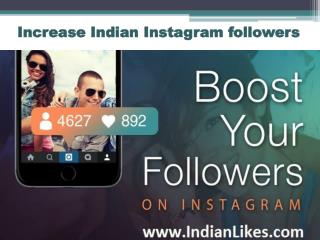 Buy Indian Instagram followers