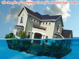 Merits of positioning yourself in short sale market