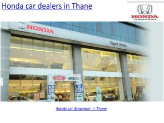 Honda car booking in Thane