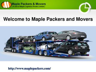 Packers and Movers Delhi | Maple Packers and Movers