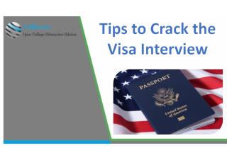 Tips to Crack the Visa Interview by Collmission