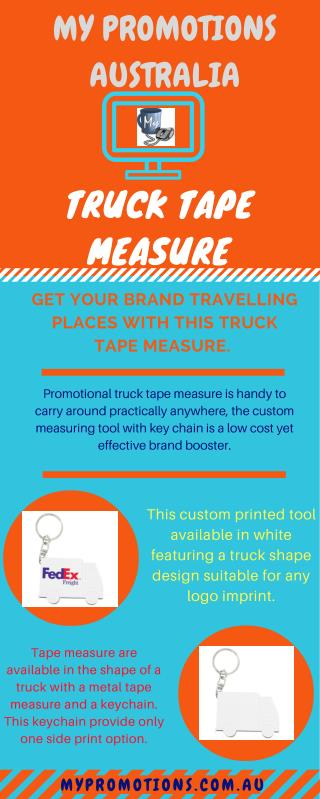 Promotional Truck Tape Measure at My Promotion Australia