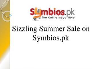 Symbios Brings Summer Sale In Collaboration With Telenor Easypay Starting Rs.1
