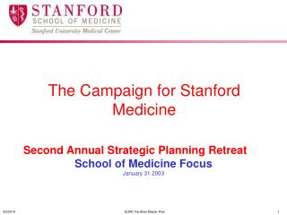 The Campaign for Stanford Medicine