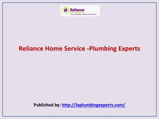 Reliance Home Service -Plumbing Experts