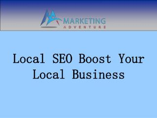 Local SEO Boost Your Local Business