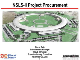 NSLS-II Project Procurement