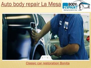 Auto body repair La Mesa
