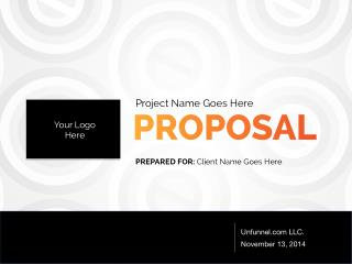 Partner Lead Generation Proposal Template
