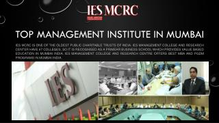 Masters in Marketing Management Program in Mumbai