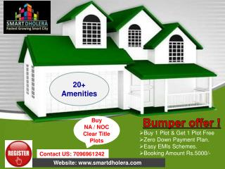 Book plots in Dholera SIR, Gujarat