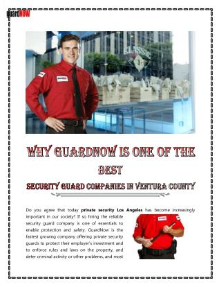 Security Services | Security Services Company