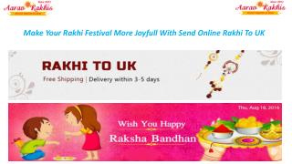 Send Rakhi to UK  Online