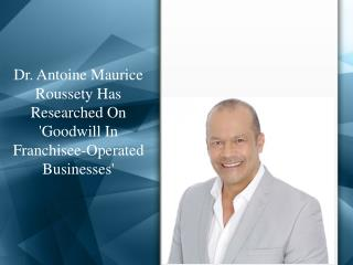 Maurice Antoine Roussety