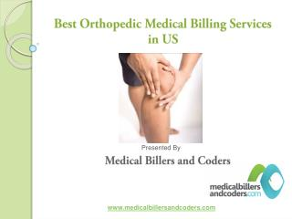 Best Orthopedic Medical Billing service in US