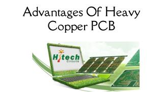 Advantages Of Heavy Copper PCB