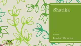 Collection of Baluchari Silk Sarees at Shatika