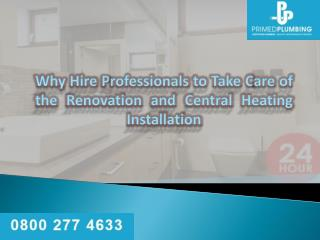 Central heating services Wellington