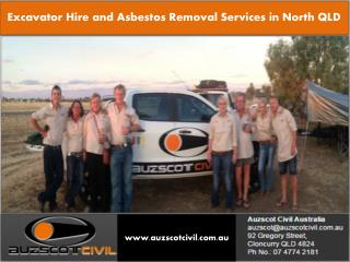 Hire in Excavation North QLD