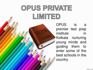 The Opusway- CLAT and NIFT prep coaching center