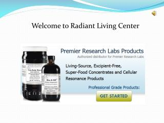 Premier Research Labs Supplements