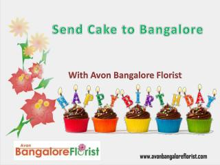 Send Cake to Bangalore