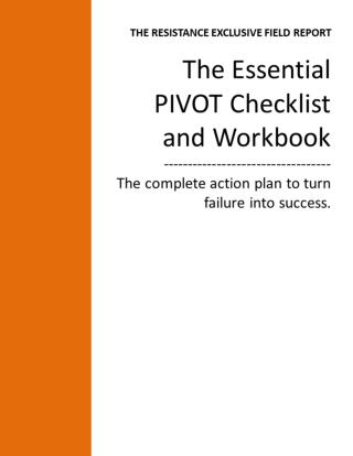 "The Agile ""PIVOT"" Checklist and Workbook"