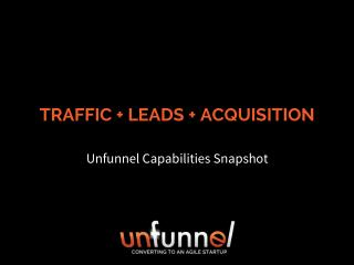 Inbound Marketing Services 2016 [Unfunnel Capabilities Snapshot]