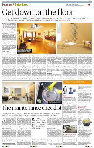 Square Foot Deccan Herald - Flooring Company in India   Square Foot