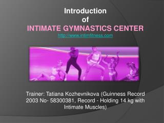 Gymnastics Training Center for Women in Russia