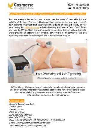 Body Contouring and Skin Tightening Treatment Delhi