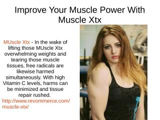 Fill Your Power Meter With MUscle Xtx