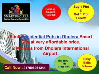 Buy Residential plots in Dholera SIR