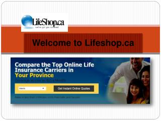 Best Life Insurance Canada Online Quote