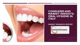 Consumer and Market Insights: Oral Hygiene in Italy
